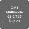OM1 Multimode Duplex