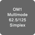 OM1 Multimode Simplex