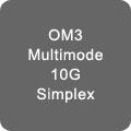 OM3 10Gb Simplex