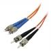 1M FC to ST Multimode Duplex OM3 10Gb 50/125